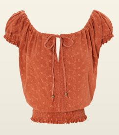 Jane Norman peasant top