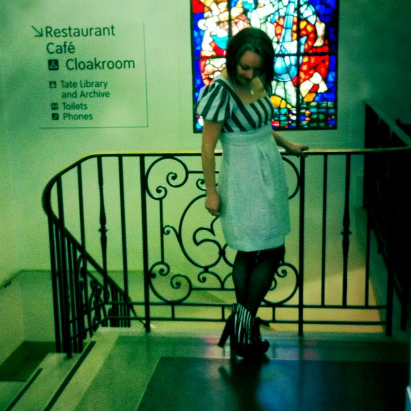 danielle and stained glass