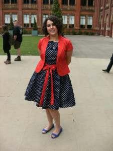 steph spotty dress
