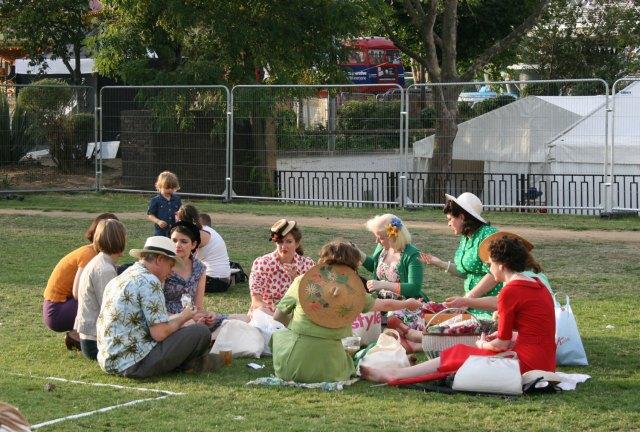 A vintage picnic