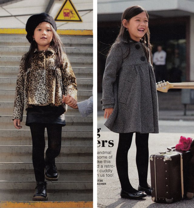 burda childs coat