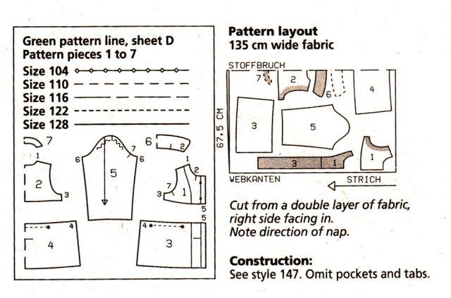 furry coat layout