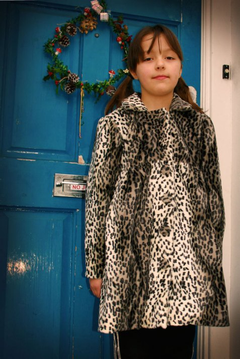 snow leopard coat