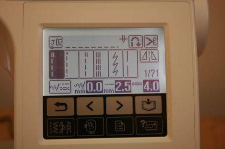 innovis1250 digital display
