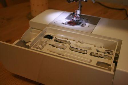 innovis1250 accessory compartment