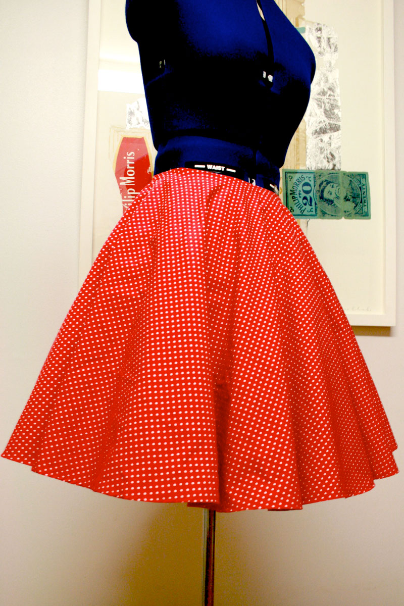 That is terrific for the look I was going for with these skirts BUT I would advise you to choose a solid or a non-directional print to make your circle skirts out of especially if it is the first circle skirt you have ever optimizings.cf a thought.
