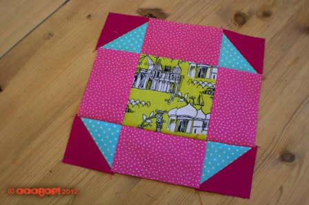 Shoo-fly quilt block