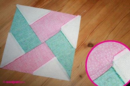 whirlwind quilt block reverse
