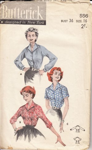 B556 Butterick pattern