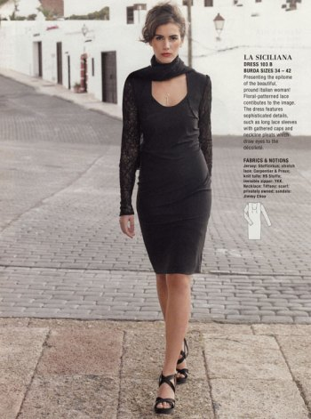 burda april 2012 dress
