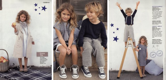 burda april 2012 kids patterns