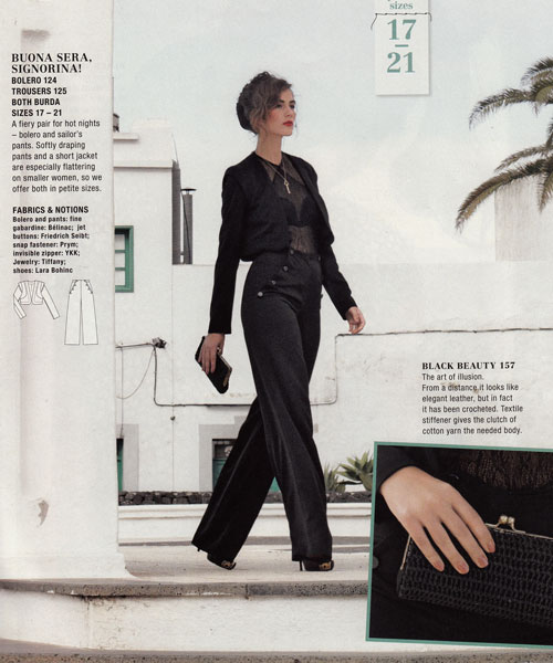 burda april 2012 trousers