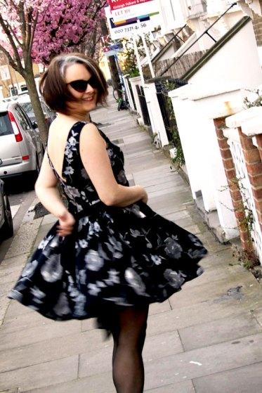 party dress twirl