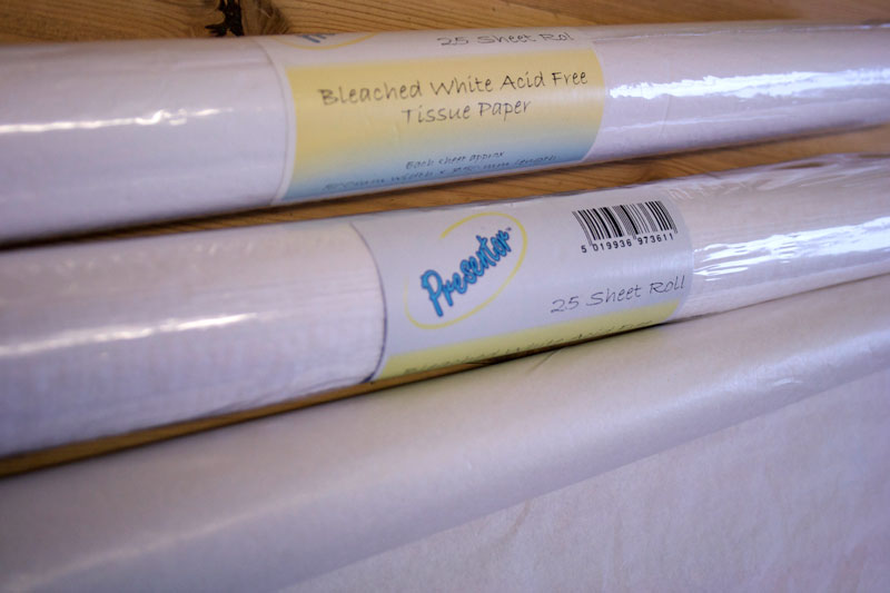 acid free tissue paper roll Tissue paper or simply tissue is a lightweight paper or, light crêpe paper tissue  can be made  these are made from one up to four plies and in a variety of  qualities, sizes, folds, colours and patterns depending on intended use and  prevailing.