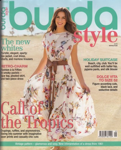 burda may 2012 cover