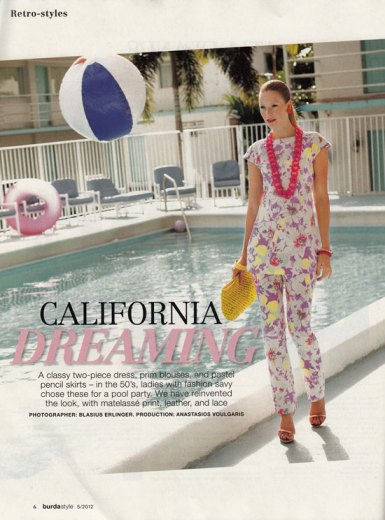 burda may 2012 retro trouser suit