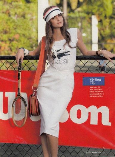 burda may 2012 sport skirt