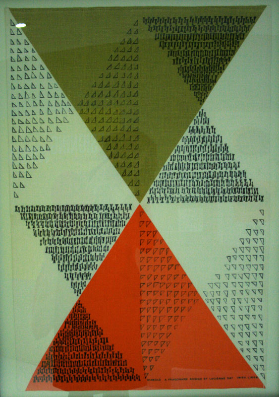 'Diablo', Lucienne Day, 1962/3