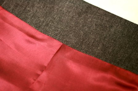 lining pleat