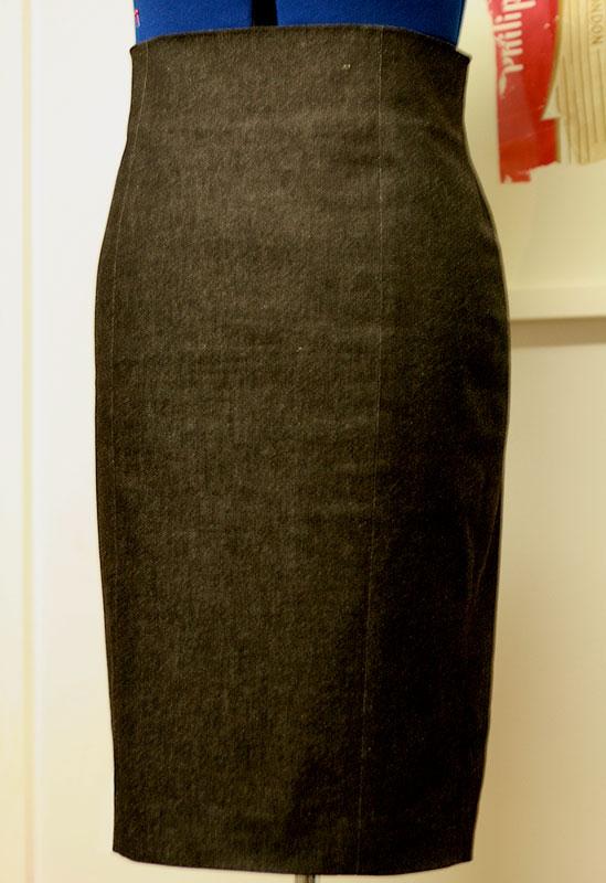 high waisted pencil skirt ooobop