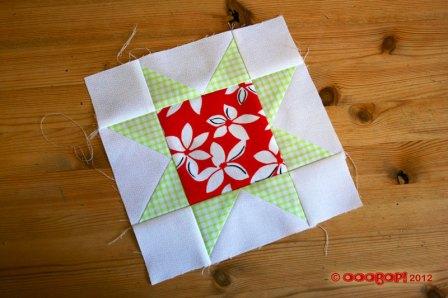 sawtooth star quilt block