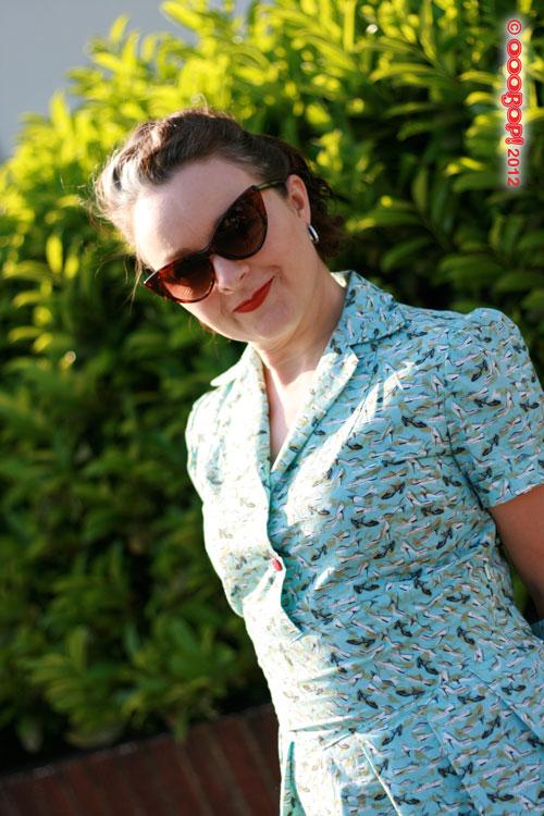1940s dress sunshine