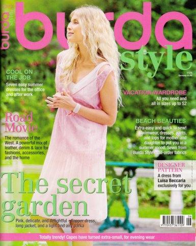 burda June 2012 magazine