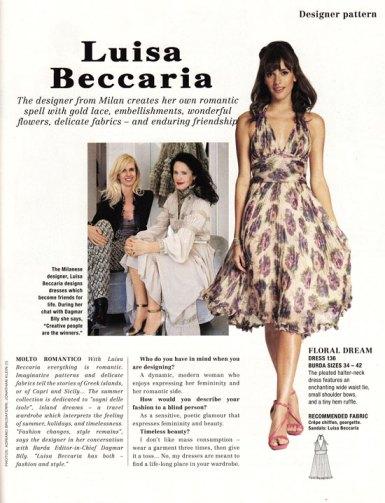 burda June 2012 Beccaria