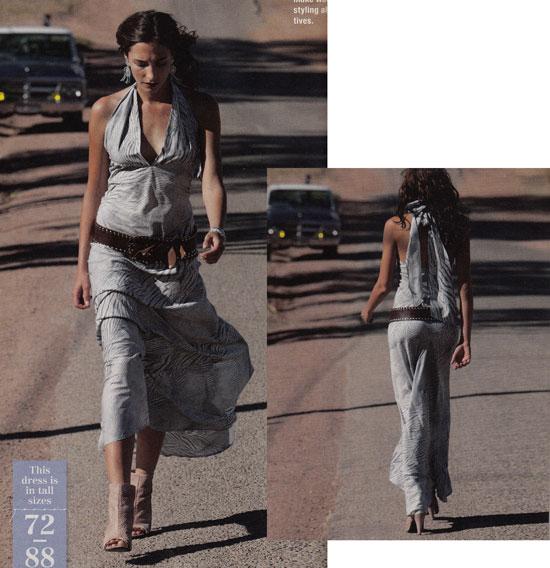 burda June 2012 maxi dress