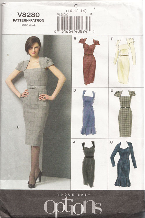 v8280 sewing pattern