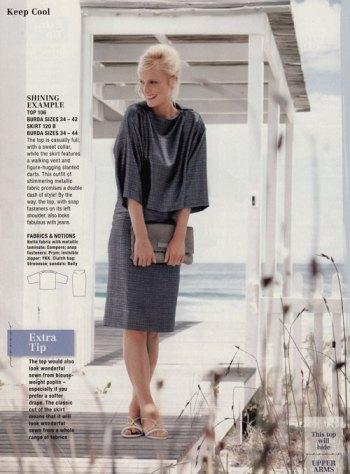 burda style july 2012 skirt