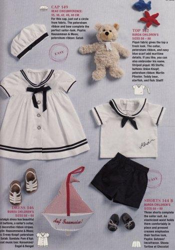 childrens sailor clothes