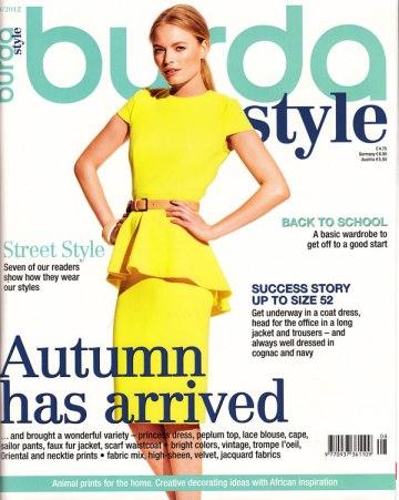 Burda Style August 2012