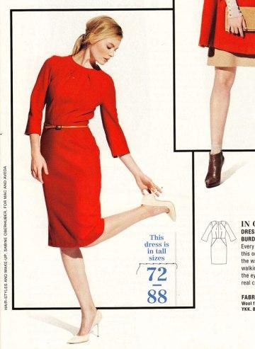 Burda August 12 dress