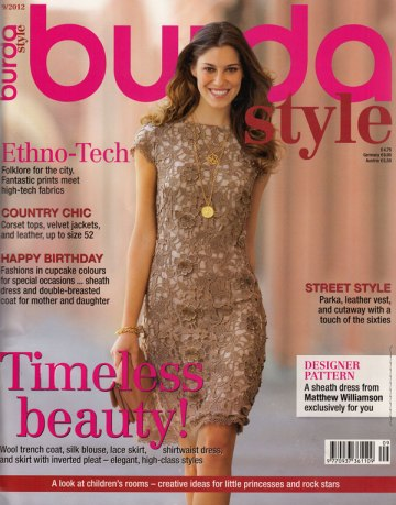 burda magazine september 2012