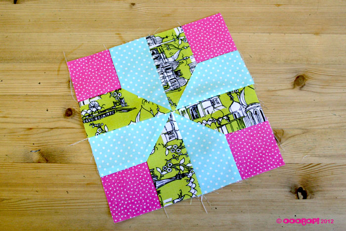 nelsons victory quilt block