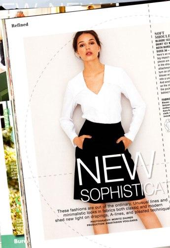 burda october 2012 blouse
