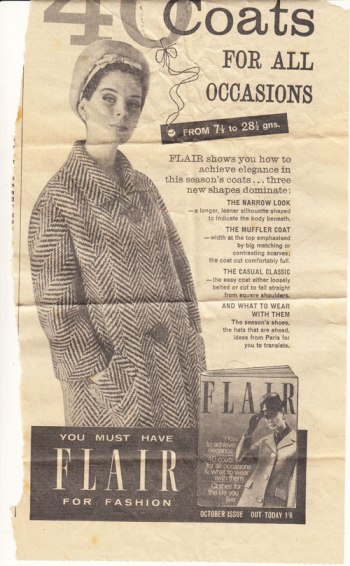 coat newspaper cutting