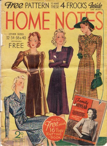 home notes 1939 cover
