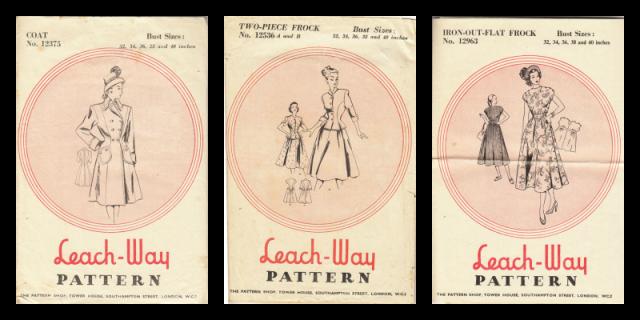 Leach way patterns, 12536, 12375, 12963