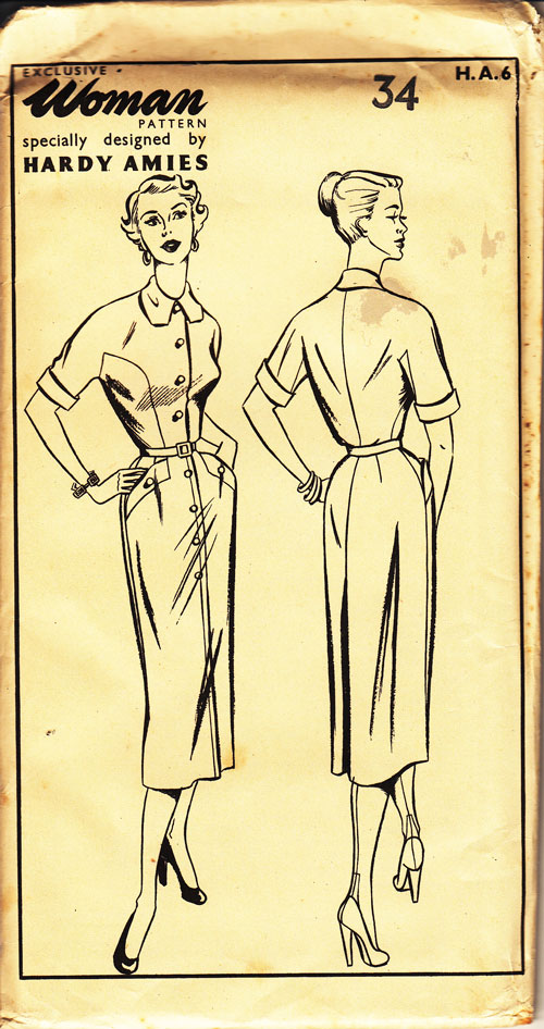 Woman Hardy Amies exclusive pattern