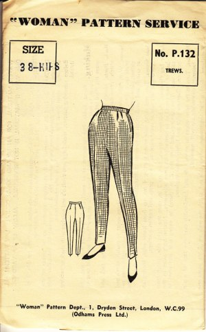 Woman p132 Trews