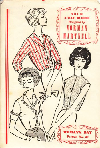 Normal Hartnell blouse patterns