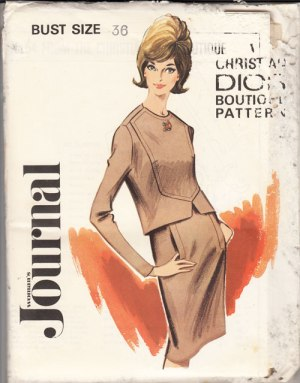 Womans Journal Dior pattern