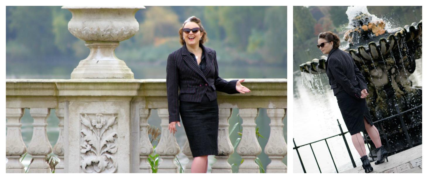 burda jacket shot by italian fountains