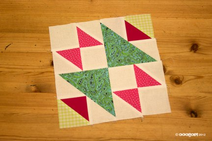 Old Maids Puzzle Quilt Block