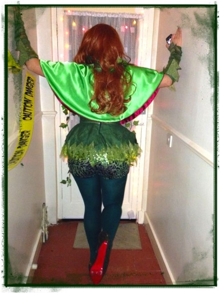 poison ivy back