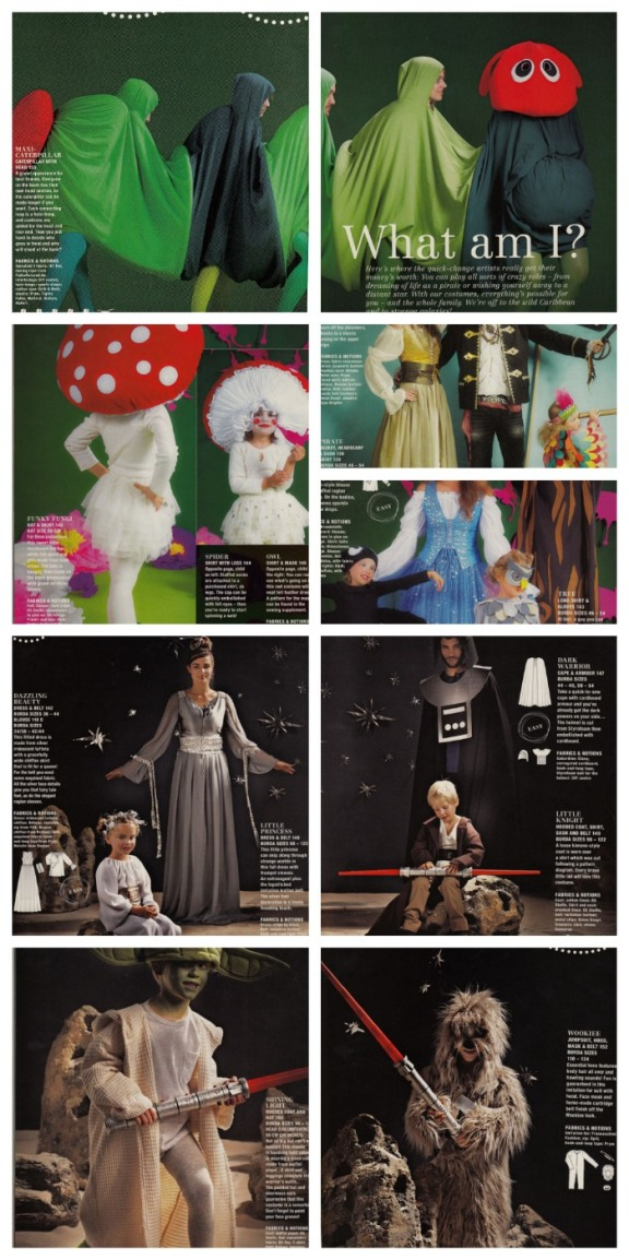 Burda January 2013 fancy dress