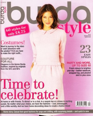 Burda January 2013 cover
