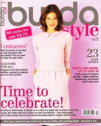 Burda January 2013 cover